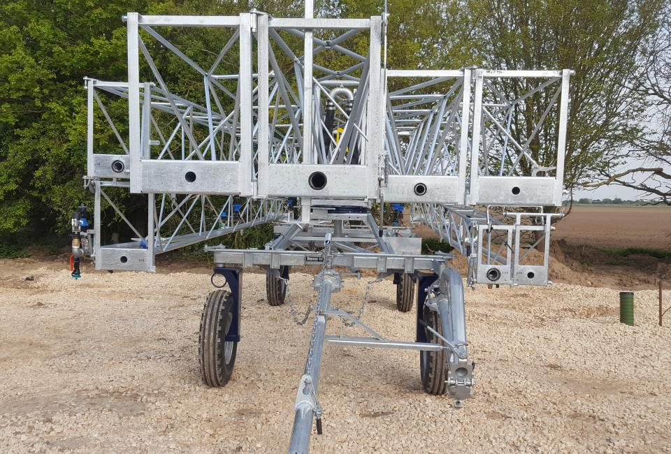 4 Wheel Chassis Briggs Boom Irrigation