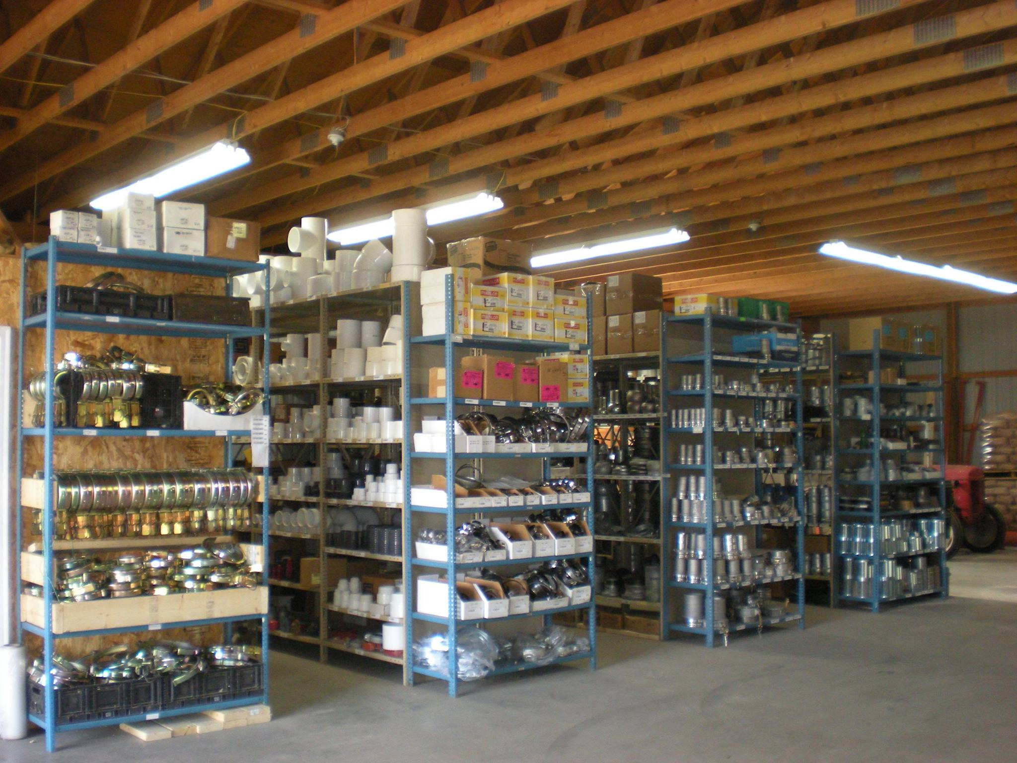 <strong>Fully Stocked Warehouse for your Irrigation parts</strong>